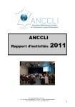 Rapport d'Activités 2011