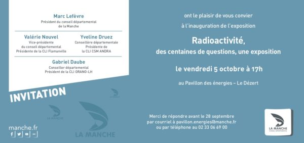 Invitation inauguration exposition